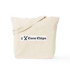 I Eat Corn Chips Tote Bag