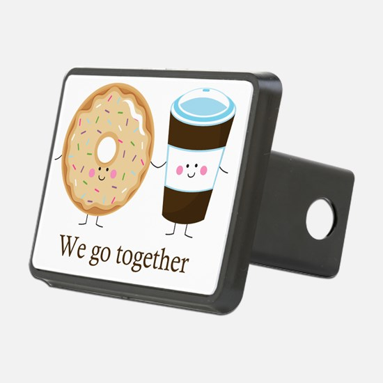 We go together like coffee Hitch Cover