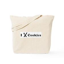 I Eat Cookies Tote Bag