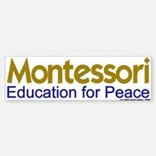 Education for Peace Bumper Bumper Bumper Sticker