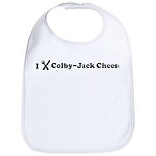 I Eat Colby-Jack Cheese Bib