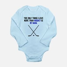 Hockey Nana Body Suit