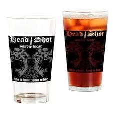 HeadShot ZombieWear Office Drinking Glass