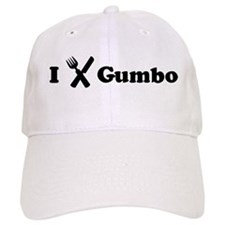 I Eat Gumbo Baseball Cap