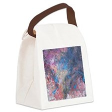 Abstract Expressions Rainbow Art Canvas Lunch Bag