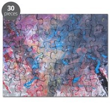 Abstract Expressions Rainbow Art Puzzle