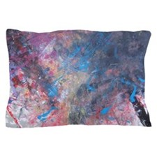Abstract Expressions Rainbow Art Pillow Case