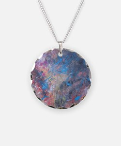Abstract Expressions Rainbow Necklace