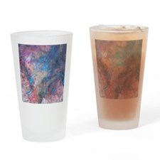 Abstract Expressions Rainbow Art Drinking Glass
