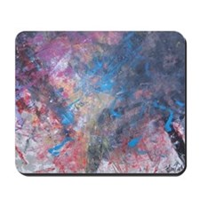 Abstract Expressions Rainbow Art Mousepad