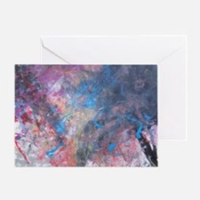 Abstract Expressions Rainbow Art Greeting Card