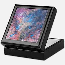 Abstract Expressions Rainbow Art Keepsake Box
