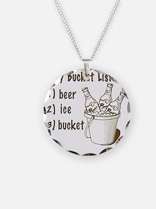My Beer Bucket List Necklace