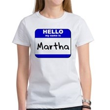 hello my name is martha Tee