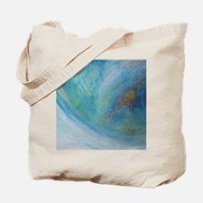 Abstract Expression Sea Foam Serenity Tote Bag