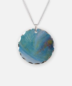Abstract Expression Sea Foam Necklace