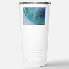 Abstract Expression Sea Travel Mug