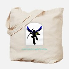 Soaring (black) Tote Bag