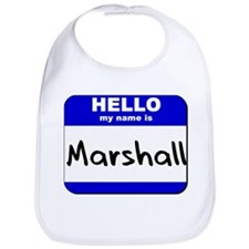 hello my name is marshall  Bib