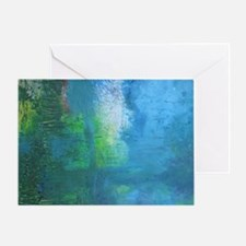 Abstract Landscape Expression Greeting Card