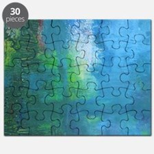Abstract Landscape Expression Puzzle