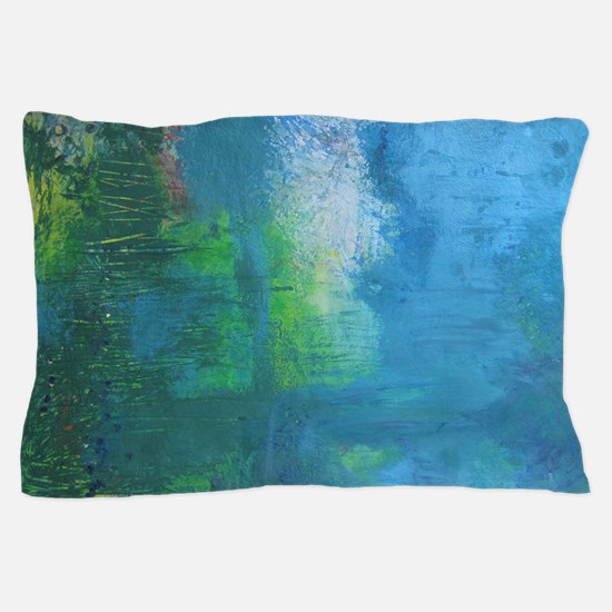 Abstract Landscape Expression Pillow Case