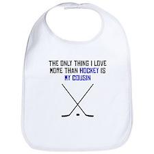 Hockey Cousin Bib