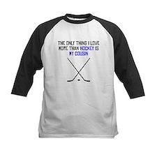 Hockey Cousin Baseball Jersey