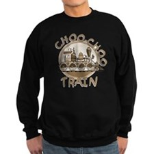 Old Time Choo Choo Train Jumper Sweater