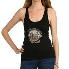 Old Time Choo Choo Train Racerback Tank Top