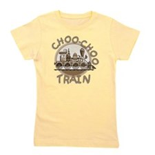 Old Time Choo Choo Train Girl's Tee