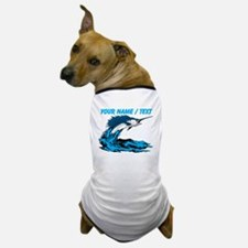 Custom Marlin Jumping Dog T-Shirt