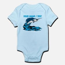 Custom Marlin Jumping Body Suit