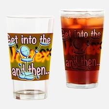 AVortex2sq Drinking Glass