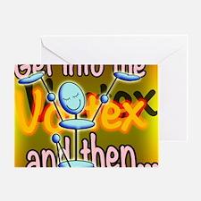 AVortex2sq Greeting Card