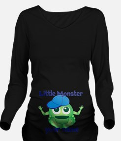 Little Boy Monster Long Sleeve Maternity T-Shirt