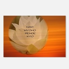 SGI Buddhist NMRK Postcards (Package of 8)
