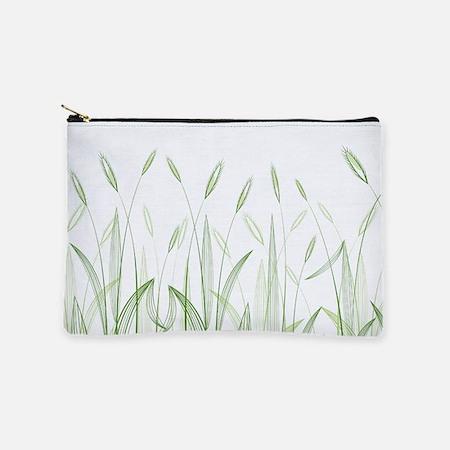Delicate Grasses Makeup Bag