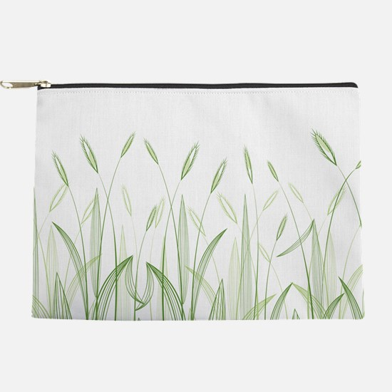Delicate Grasses Makeup Pouch