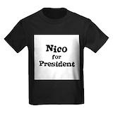 Nico Kids T-shirts (Dark)