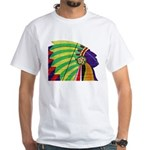 Native American White T-Shirt