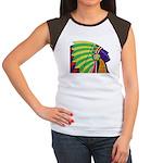 Native American Women's Cap Sleeve T-Shirt
