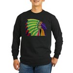 Native American Long Sleeve Dark T-Shirt