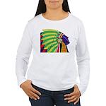 Native American Women's Long Sleeve T-Shirt