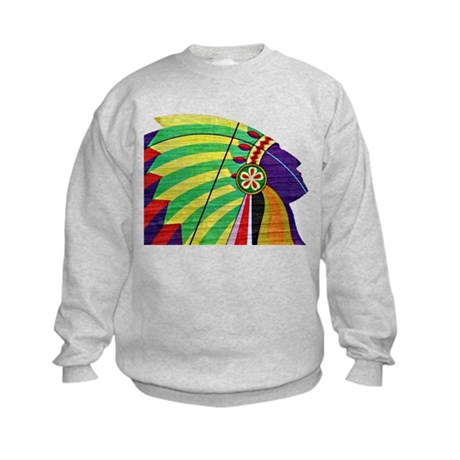 Native American Kids Sweatshirt