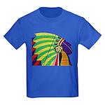 Native American Kids Dark T-Shirt