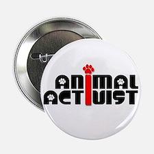 """Animal Activist 2.25"""" Button"""