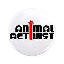 """Animal Activist 3.5"""" Button"""