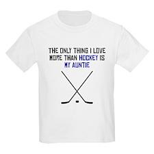 Hockey Auntie T-Shirt