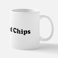 I Eat Fish And Chips Mug